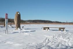 Runenstein große Sigtrygg-Stein - Haithabu 06-03-2010