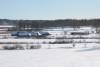 Wikinger Häuser Haithabu - Ansicht vom Nordwall 06-03-2010