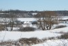 Wikinger Häuser Haithabu - Ansicht vom Westwall 06-03-2010