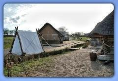 Nach 17:00 Uhr kehrt in Haithabu die Ruhe zurück (2. Frühjahrsmarkt) - Museumsfreifläche Wikinger Museum Haithabu WHH 08-04-2012