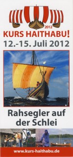 Flyer Kurs Haithabu Wikinger Museum Haithabu 2012