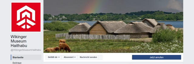 Wikinger Museum Haithabu mit eigener Seite auf Facebook