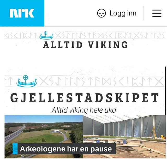 © NRK - Alltid Viking - Gjellestadskipet