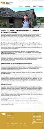Neuigkeiten aus dem Wikinger Museum Haithabu - 12.08.2020: Was 1000 Jahre alte Pfähle über das Leben in Haithabu erzählen mit Dr. Joachim Schultze