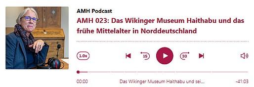 © Archäologisches Museum Hamburg - AMH Podcast Nr. 023 mit WMH-Museumsleiterin Ute Drews