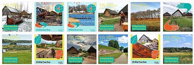 © UNESCO / Kai-Erik Ballak- UNESCO-Welterbetag #WelterbeVerbindet Mitmachen und Fotos teilen! - Archäologischer Grenzkomplex Haithabu und Danewerk