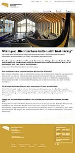 """Neuigkeiten aus dem Wikinger Museum Haithabu - 02.07.2020: Wikinger: """"Die Klischees halten sich hartnäckig"""" mit Museumsleiterin Ute Drews"""